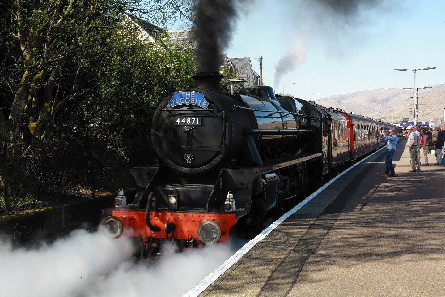 """Caution """"steam train"""", or how the train became a landmark"""