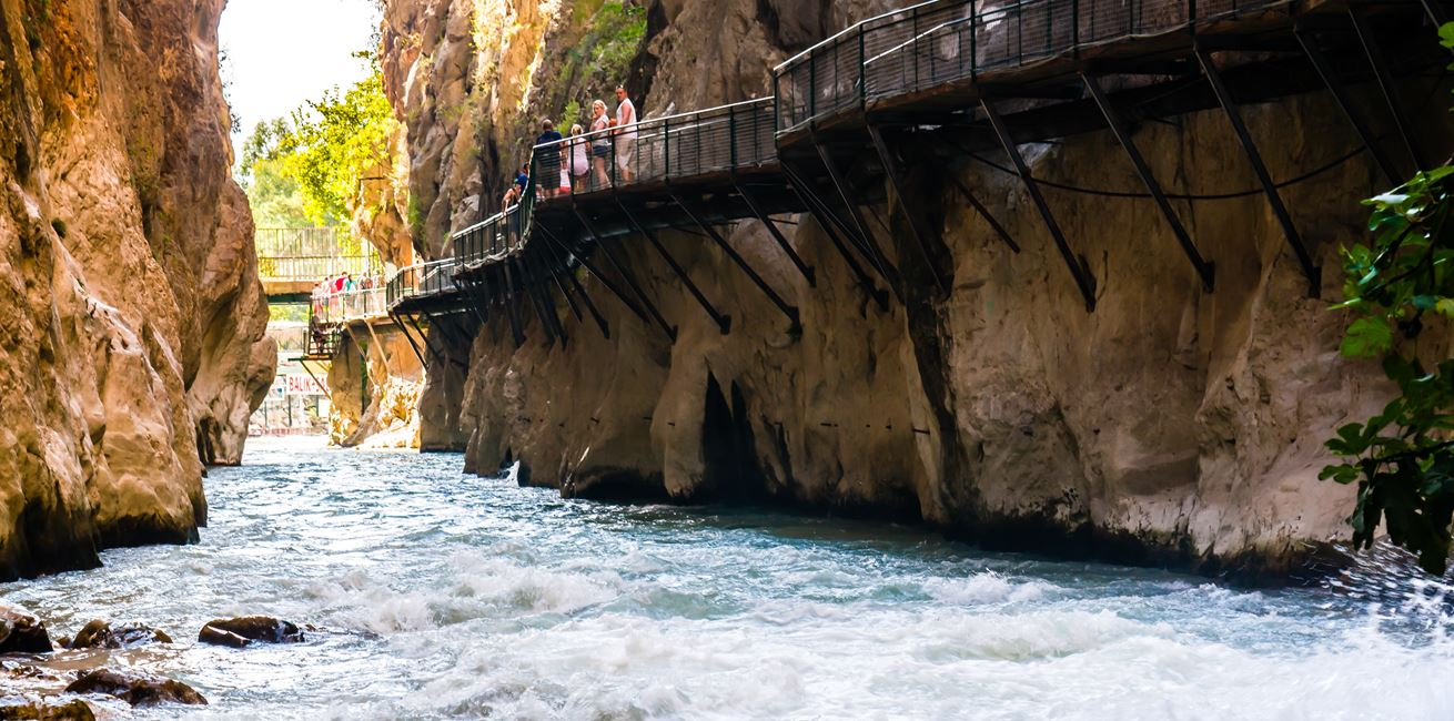 Saklikent gorge – a few tips for those who are planning a track in the gorge